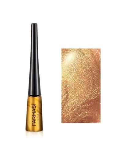 Farmasi Metalik Eyeliner Metal Gold 02-4,5Gr Altın
